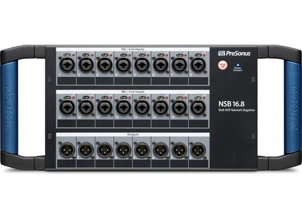 PreSonus Networked Stage Boxes