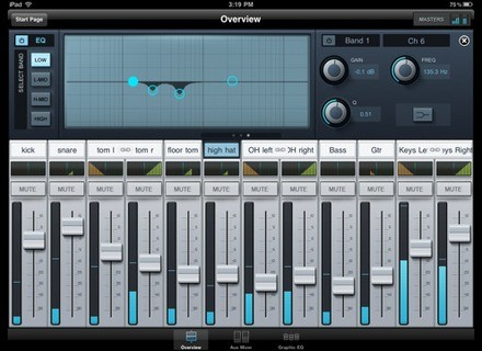 PreSonus StudioLive Remote for iPad