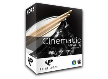 Prime Loops Cinematic Impacts Vol. 2