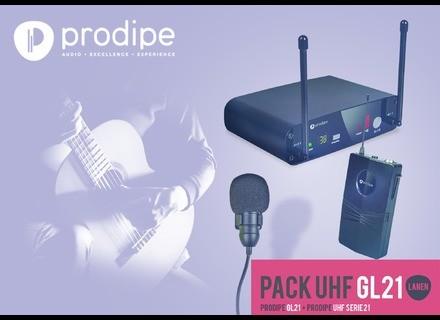 Prodipe Pack UHF GL21 Acoustic Guitar & Ukulele