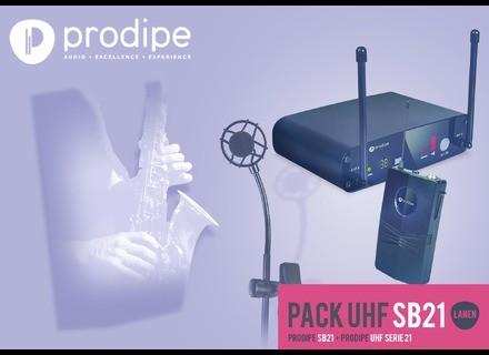 Prodipe Pack UHF SB21 Sax & Brass Lanen