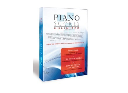 Prodipe Piano Scores Unlimited Vol.1 Classic