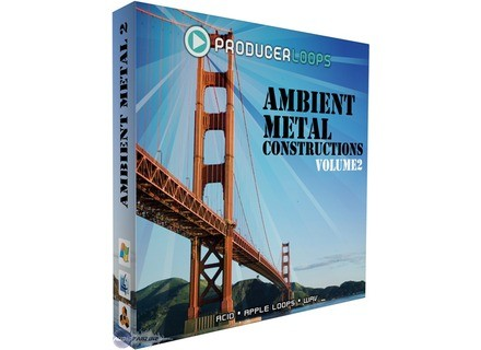 Producer Loops Ambient Metal Constructions 2
