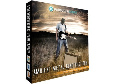 Producer Loops Ambient Metal Constructions 3