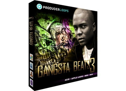 Producer Loops Gangsta Beats 3