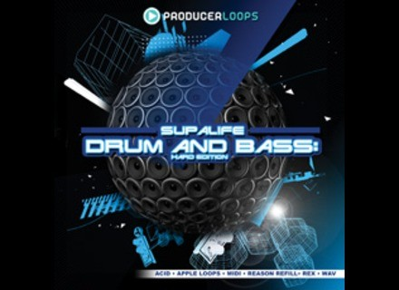 Producer Loops SUPALIFE DRUM & BASS HARD EDITION