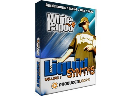 Producer Loops White Papoo Liquid Synths Volume 1