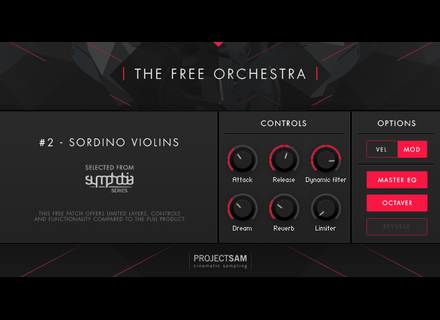 Project SAM The Free Orchestra – Sordino Violins