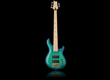 PRS Gary Grainger 5-String Bass - Makena Blue