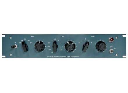 Pultec MEQM-5 Midrange Equalizer - Mastering