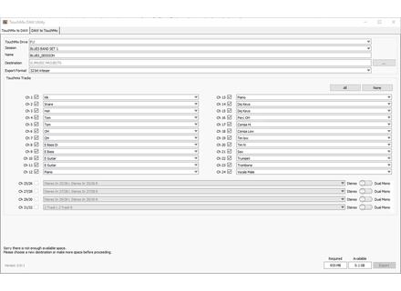 QSC TouchMix DAW Utility 2