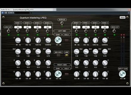 Quantum Music Mastering LPEQ