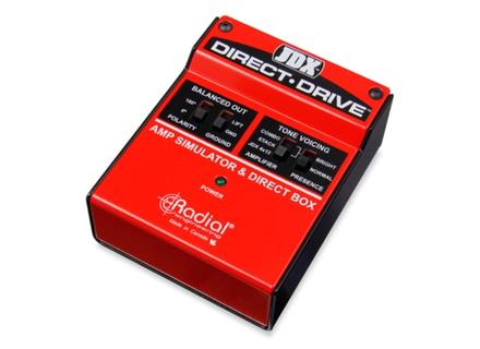 Radial Engineering JDX Direct-Drive amp simulator