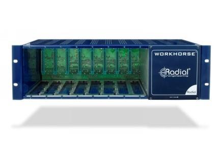 Radial Engineering WR-8 Workhorse 8-Slot Power Rack