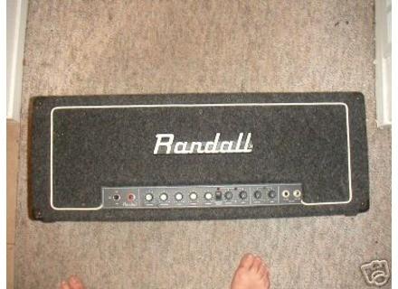 Randall Rg 100 Es 4x10 Quot Guitar Amplifier 2 Channel Combo border=