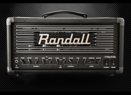 New Randall Thrasher 50 guitar amp head unveiled at NAMM 2015