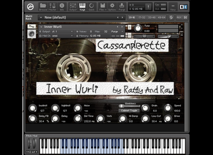 Rattly And Raw Cassamplerette