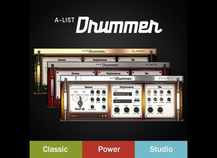 Reason Studios A-List Drummer Bundle
