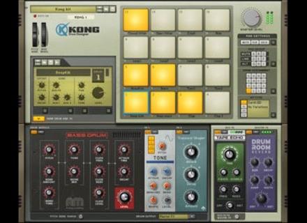 Reason Studios Kong Drum Designer