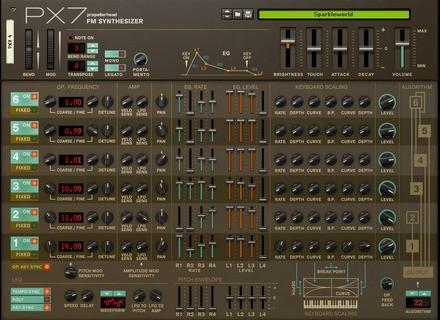 Reason Studios PX7 Rack Extension
