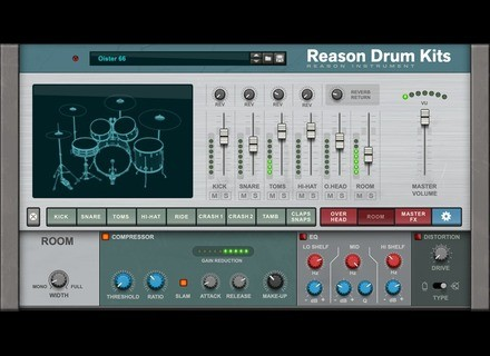 Reason Studios Reason Drum Kits RE