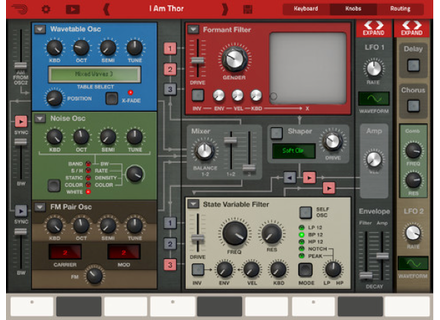 Reason Studios Thor Polysonic Synthesizer