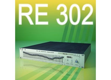 Red Rock Sound RE 302 Graphic Equaliser