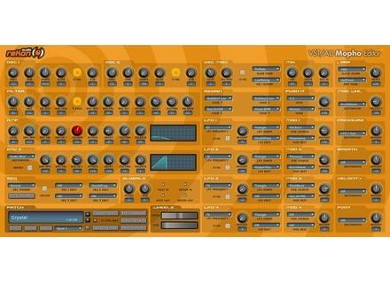 reKon Audio VST-AU Mopho Editor
