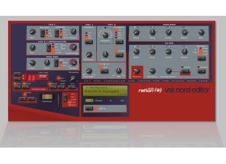 reKon Audio VST Nord Editor