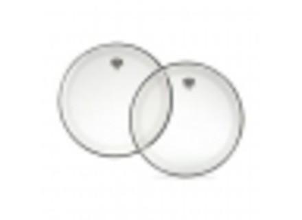 Remo P4-1324-C2 - Peau Powerstroke 4 transparente GC 24''