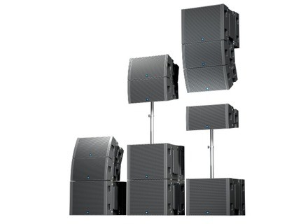 Renkus-Heinz CF/CFX Modular Point Source Line Array