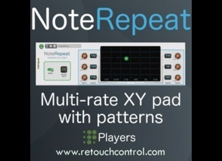 Retouch Control NoteRepeat Player