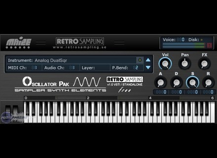 Retro Sampling Oscillator Pak - Sampler Synth Elements [Freeware]