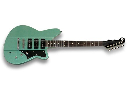 Reverend Warhawk II 390 - Metallic Alpine