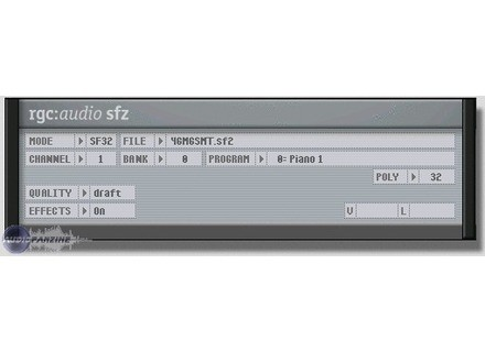 rgc:audio sfz [Freeware]