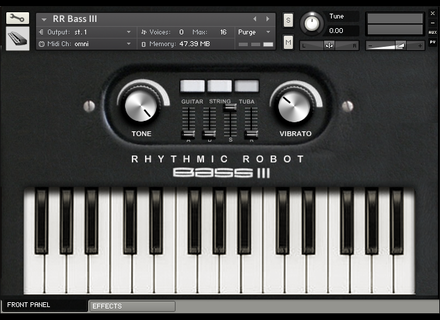 Rhythmic Robot  Bass III