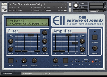 Rhythmic Robot Emulator II OMI Universe of Sounds: Vol 2