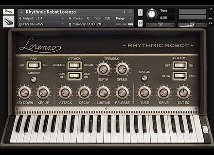 Rhythmic Robot Lorenzo