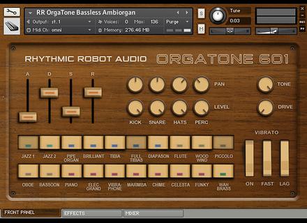 Rhythmic Robot OrgaTone 601