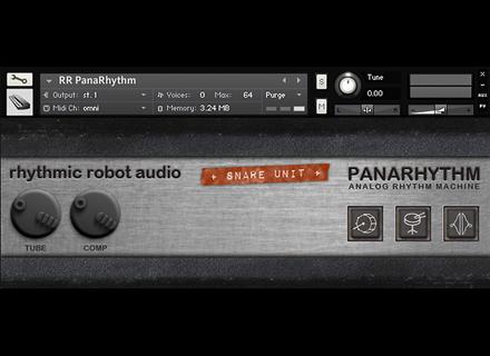 Rhythmic Robot PanaRhythm