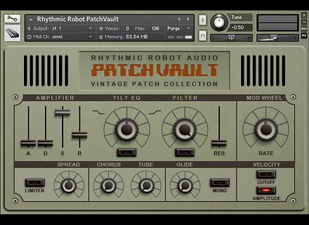 Rhythmic Robot Patchvault Poly6 Factory Set B
