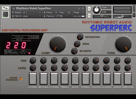 Rhythmic Robot SuperPerc