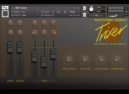 Rhythmic Robot Trixer