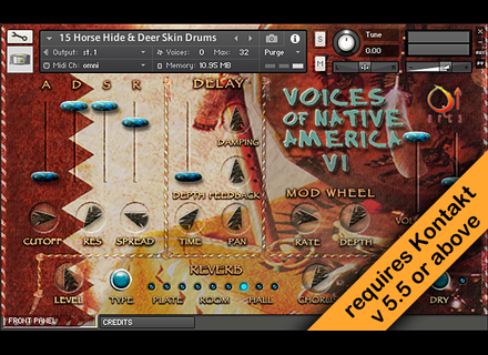 Rhythmic Robot Voices of Native America volume I