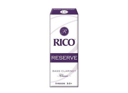 Rico Reeds Reserve Bass Clarinet Reeds