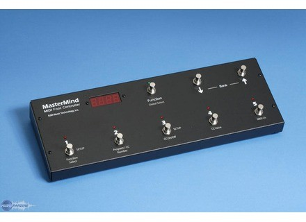 Rjm Music Technologies MasterMind - Midi Foot Controller
