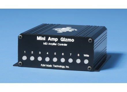 Rjm Music Technologies Mini Amp Gizmo - MIDI Amplifier Controller