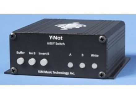 Rjm Music Technologies Y-Not - A/B/Y Switch