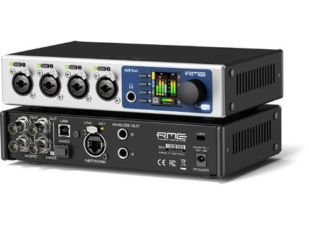 RME Audio AVB Tool