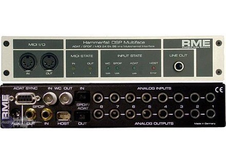 RME Audio Hammerfall DSP Multiface